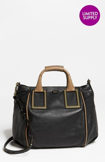 Chloé 'Ethel - Medium' Leather Tote