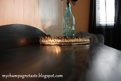 Black Stain Furniture DIY