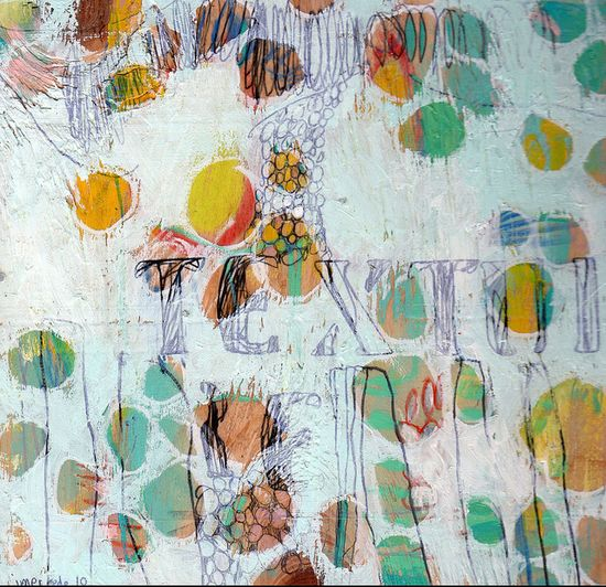 """Texture "" by Jennifer Mercede."