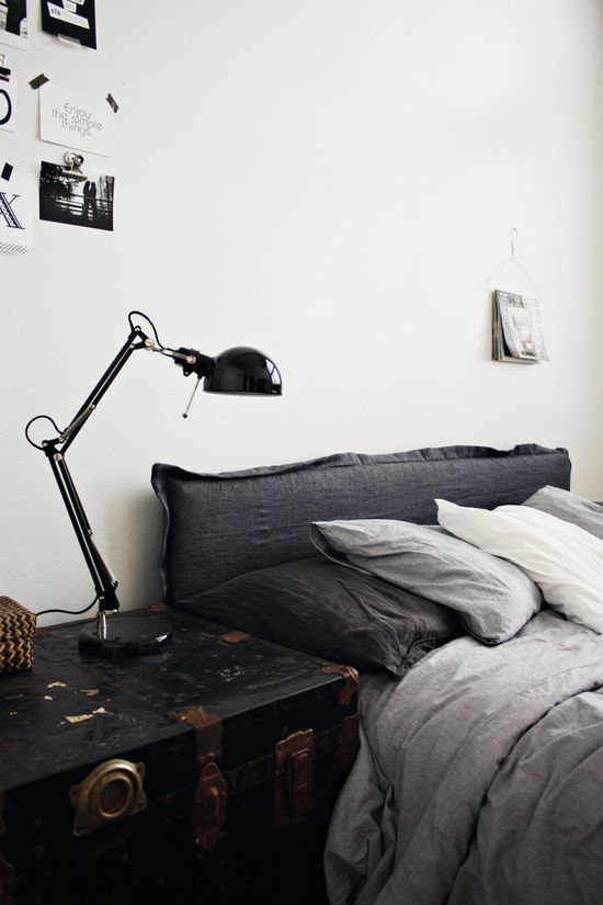 Lamp, Bed