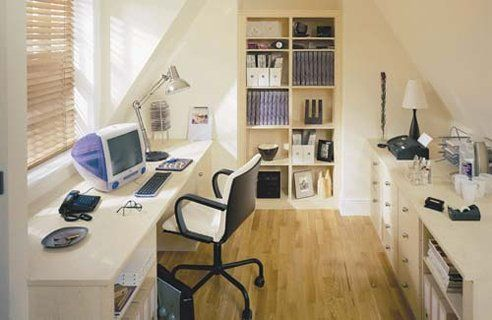 Eventually I am going to turn our attic into an office.  Checking out ideas...