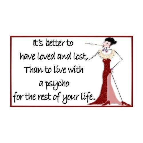 Divorce... very true.