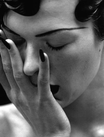 Milla Jovovich by Peter Lindbergh.