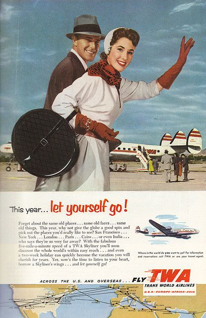 TWA advert - Flickr
