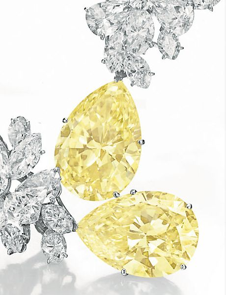 Elizabeth Taylor's /  COLORED DIAMOND AND DIAMOND /  BVLGARI