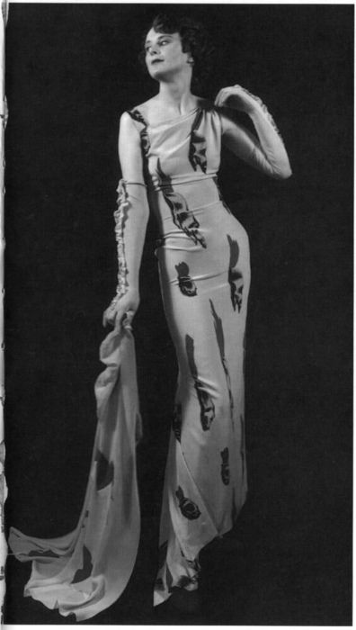 The Tears Dress, Elsa Schiaparelli + Salvador Dali