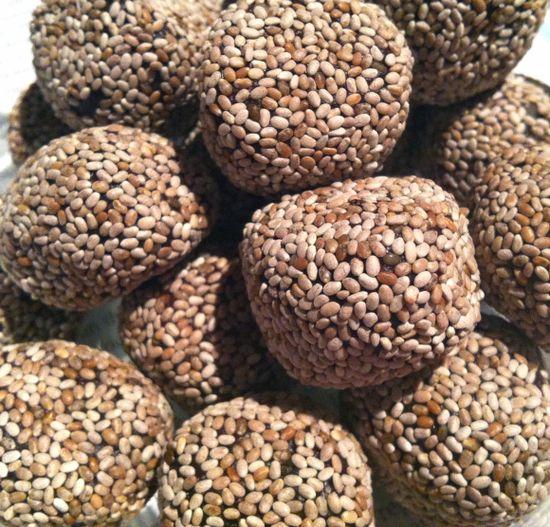Chia Seed Chocolate Balls