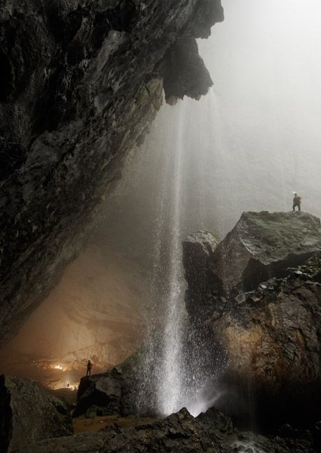 Hang San Doong, mountain river cave, Vietnam