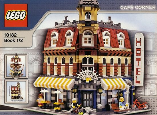 Lego Cafe Corner 10182 $140