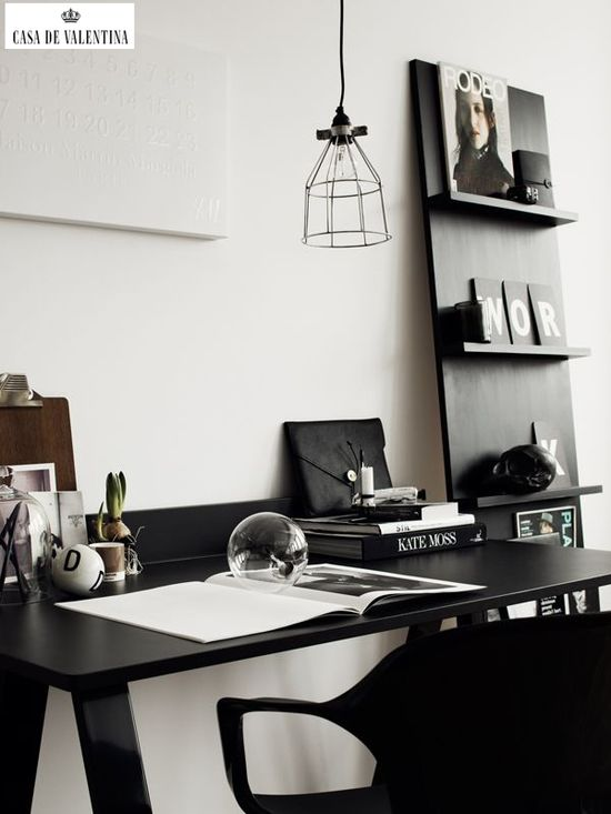 Via Casa de Valentina www.casadevalenti... #details #interior #design #office #casadevalentina