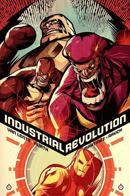 Iron Man: Industrial Revolution by Juan Doe