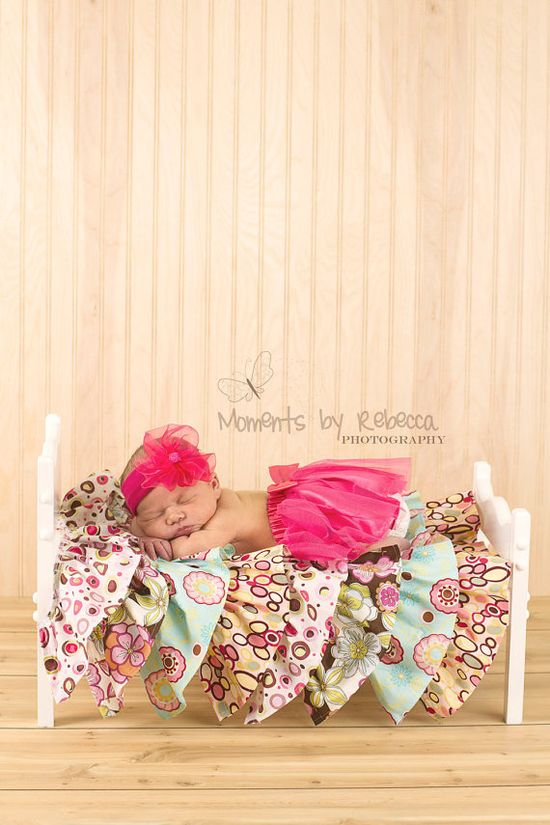 Single Bed  Newborn Baby Photography Prop by TheWoodenWorkshop, $35.00