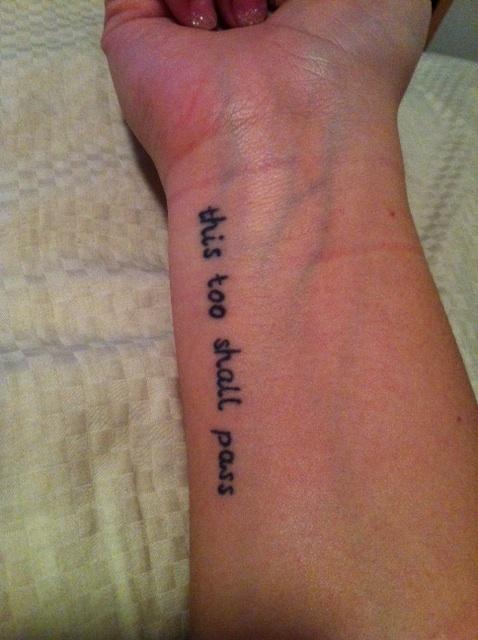 my tattoo. #tattoo