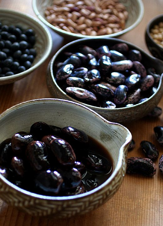 Beans // Japanese foods //