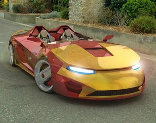 Car Iron Man