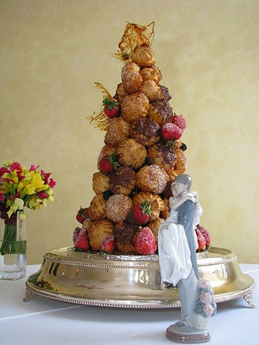 Croquembouche - French Wedding Cake | Flickr - Photo Sharing!