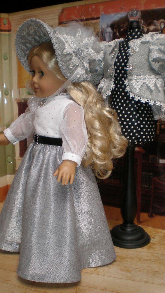 REGENCY Dress 6pc, by dollupmydoll, $110.00