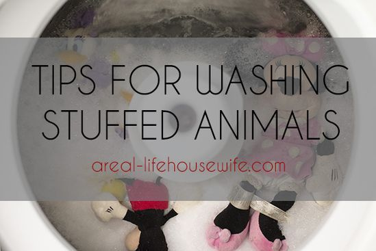 How to Clean Stuffed Animals in the Washing Machine