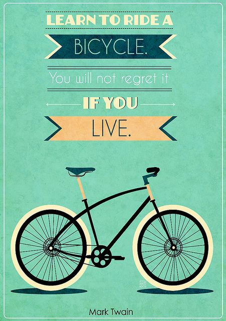 Bike Quotes #1 by Shawnywithay, via Flickr