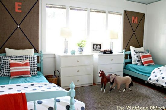 Shared Girls Room - Design Dazzle