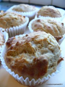 Cheese & Marmite Muffins - Cheetahs In My Shoes