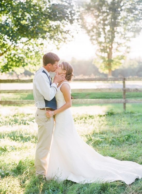 Christa & Brendan – Vermont farm wedding » Jodi Miller Photography