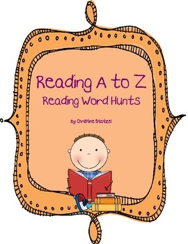 $3.50 LOVE this for fluency and phonics practice for HW!    This is a 33 page set of First Grade Reading Word Hunts. All decodable stories are from Reading A to Z. The stories have been retyped as individual...