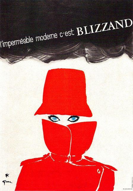 René Gruau Illustration circa '66/'67 via sandiv999/Flickr