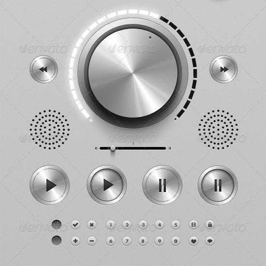royce user interface kit - ui design