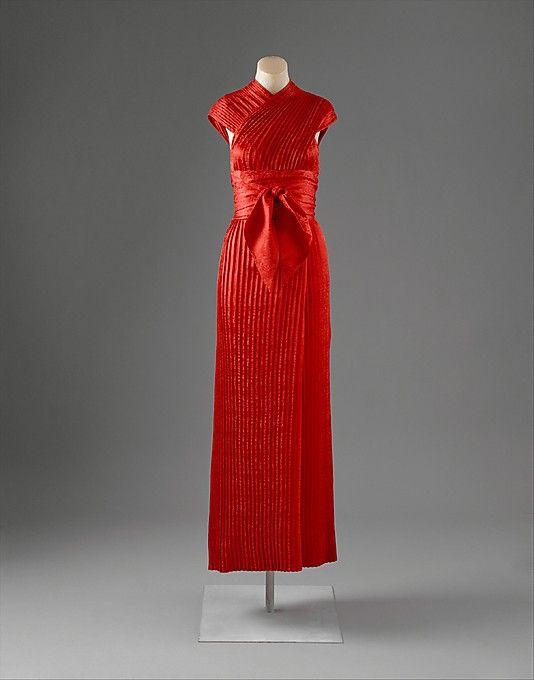Evening dress 1950