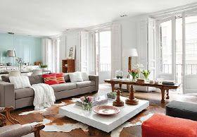 Vrooms: Modern Spanish Living room Design