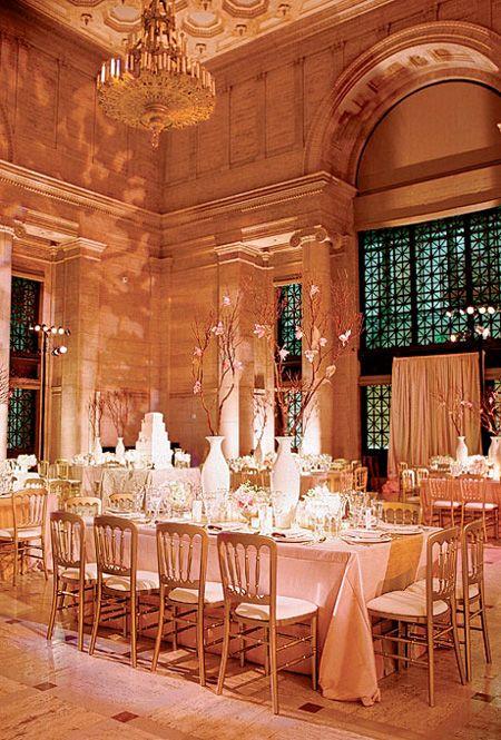 Classic and Elegant Wedding Reception