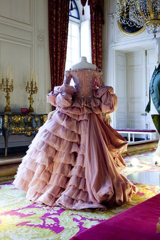 Dress made by Christian Dior