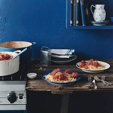 Everything tastes better in an Italian kitchen