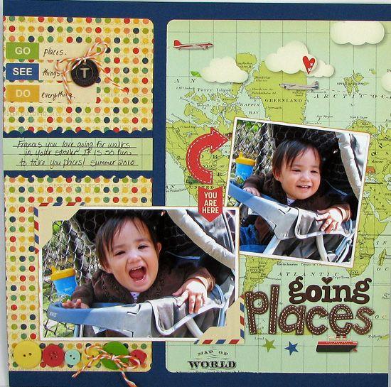 #papercraft #scrapbook #layout ? Sarah Eclavea...http:/...
