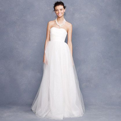 palais gown from j. crew