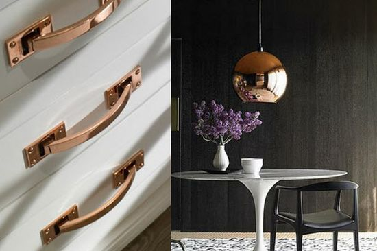Copper is HGTV's Color of the Month for March 2012! You have to see these amazing ways to use it in the home. #copper #shiny #metal #hgtv #color