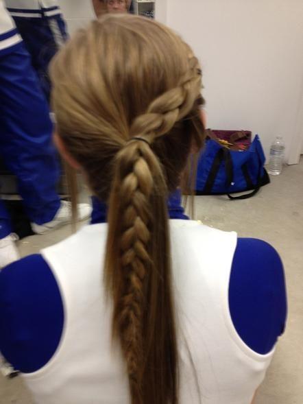 braid ponytail