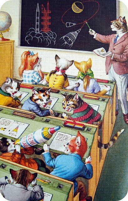 Space School Cats