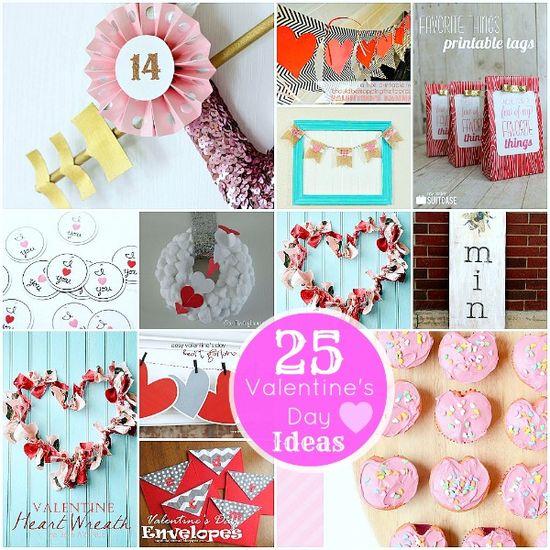 25 Valentine's Day Projects!! tatertotsandjello...
