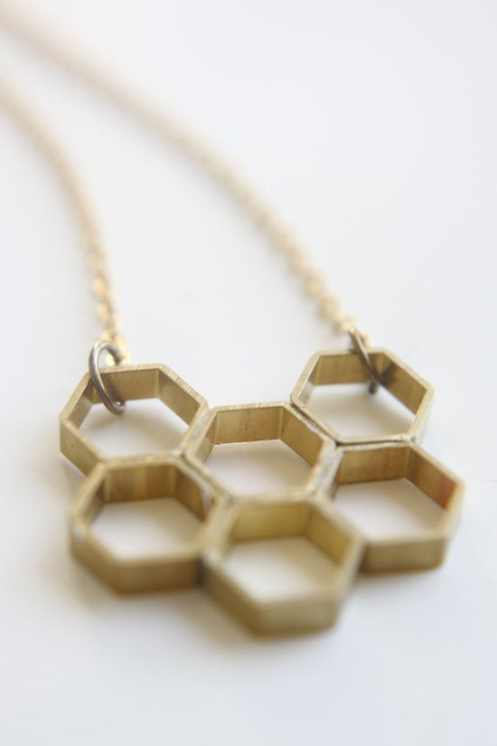 Honeycomb Necklace - $25.00