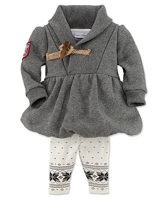 Ralph Lauren Baby Set, Baby Girls 2-Piece Hoodie and Pants - Kids Baby Girl (0-24 months) - Macy's
