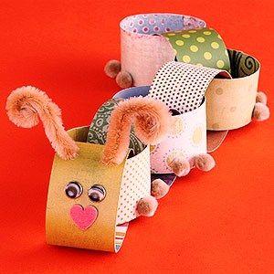 Creative Handmade Gift: kids paper crafts
