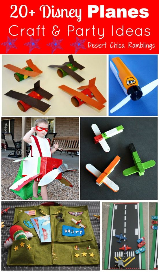 Disney Planes Craft and Party Ideas Round Up