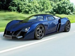 Marussia Luxury Sports Car from