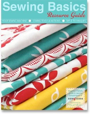 Sew4Home.com is an awesome website. This link is to a sewing basics guide but the website has sources for cute fabric, lots of DIY sewing projects, and much more!