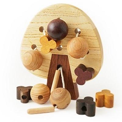 Eco Wood Threading Toy