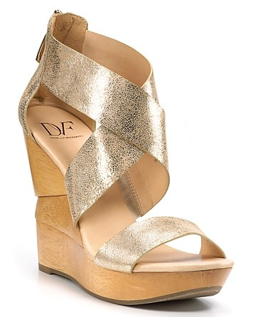 "DIANE von FURSTENBERG ""Opal"" Wedge Sandals"