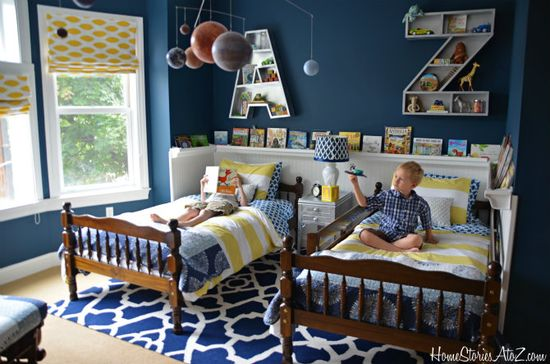 Boys Bedroom Reveal - Home Stories A to Z