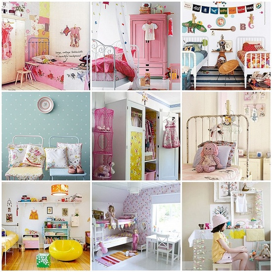 Dreaming of beautiful kids rooms..